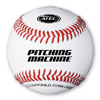Leather Pitching Machine Baseball