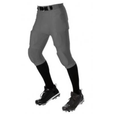 Alleson Nylon/Spandex No Fly Football Pant Youth Main Image