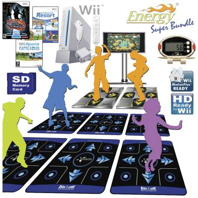Wii DDR Group Fitness Class Package Main Image