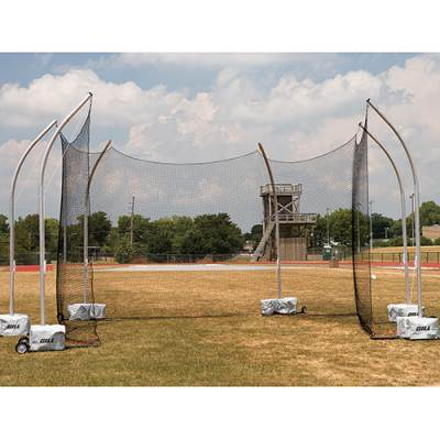 High School Portable Discus Cage Main Image