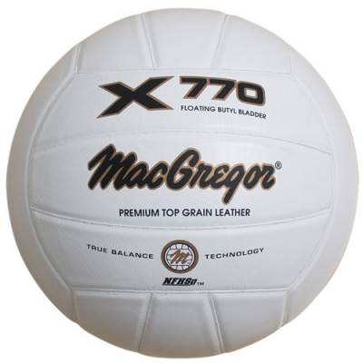 MacGregor X770 Leather Volleyball Main Image