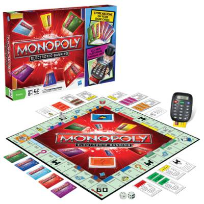 Monopoly Electronic Banking Game Main Image