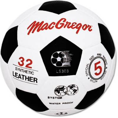 MacGregor Molded Synthetic Soccer Ball Main Image
