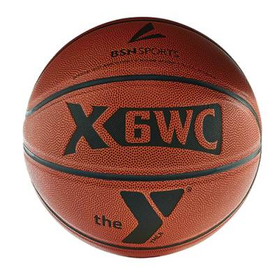 Composite Basketball with YMCA Logo Main Image
