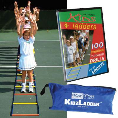Oncourt Offcourt KidzLadder™ Agility Training Ladder Main Image
