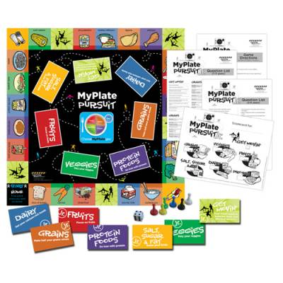MyPlate Pursuit Jr. Game Main Image
