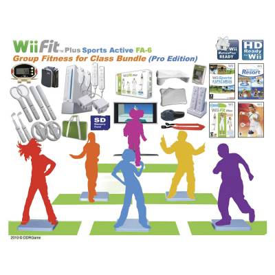 Wii Fit™ Plus Sport Active Class Package Main Image