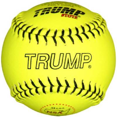 Trump® FP-11Y-RP-NSA 11 Inch 52/275 NSA Fastpitch Leather Softball Main Image