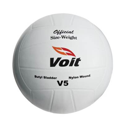 Voit® V5 Rubber Cover Volleyball Main Image