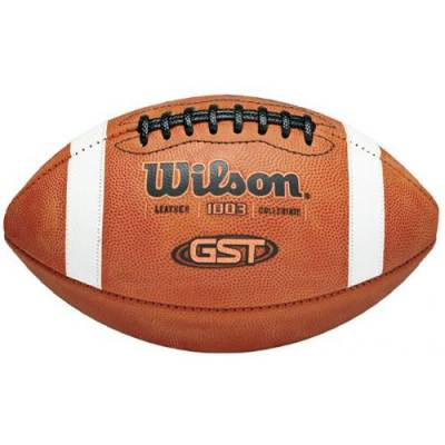 Wilson GST Game Football - Official Size Main Image