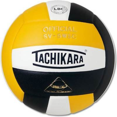 SV5WC Yellow, Black and White Volleyball Main Image