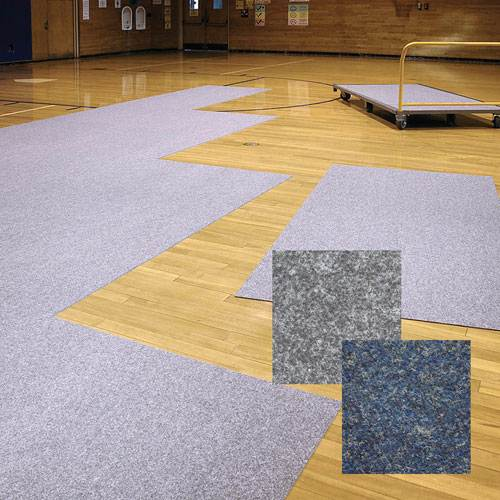 Pro shield gym floor cover tile athletic connection for Cover tile floor
