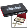 Deluxe Double Six Dominoes with Case