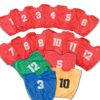 Lightweight Numbered Scrimmage Vests-Yth
