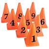 Cones w/Numbers