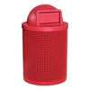 PVC Coated Trash Receptacle